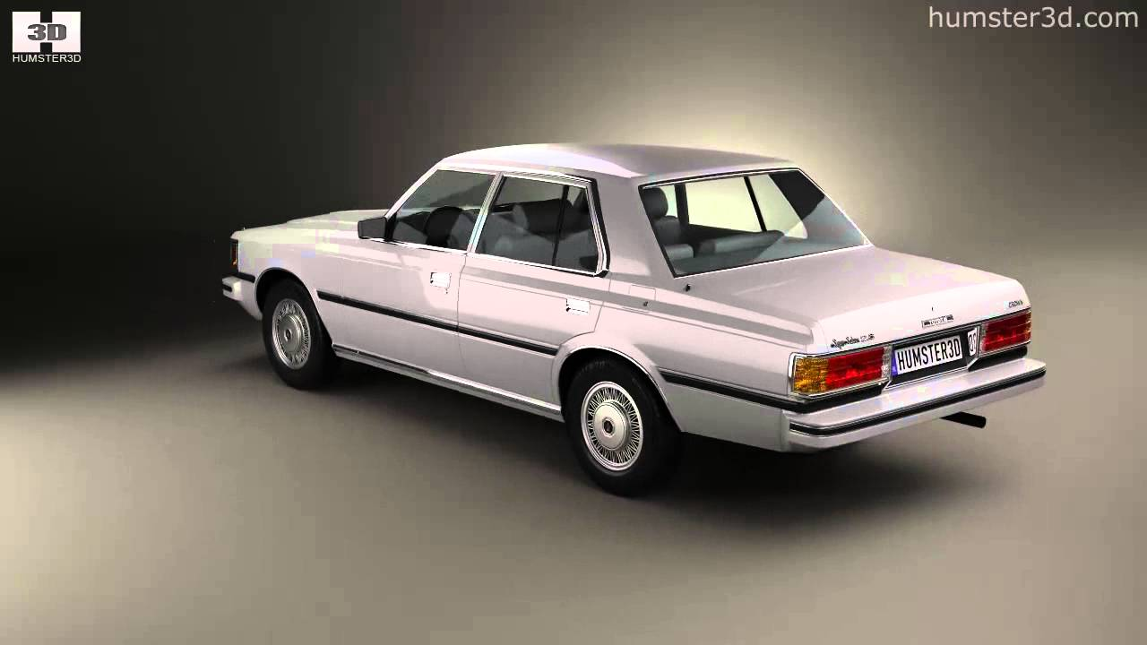 Toyota Crown 2014 >> Toyota Crown (S110) Super Saloon 1982 by 3D model store Humster3D.com - YouTube