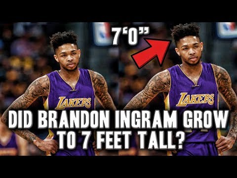 Brandon Ingram Has Grown To 7 Feet Tall? | Ready To Take Over The League?