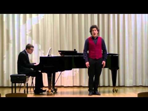 Bryan Benner Sings 3 Song From Die Schne Mllerin By Franz