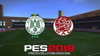 PES 2019-Botola pro - j.10 -RAJA VS WYDAD