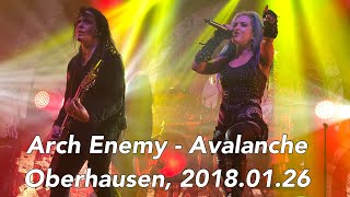 Arch Enemy - Avalanche - Turbinenhalle - Oberhausen, Germany 2018 01 26 LIVE 4K