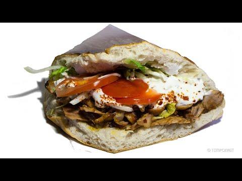 Doner Kebab Destroyed By Maggots Time-Lapse