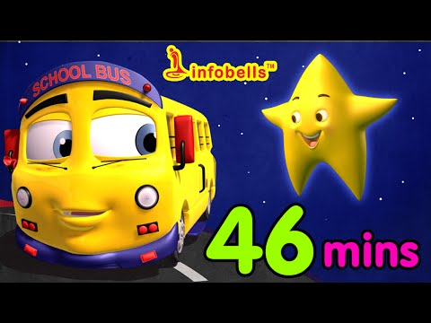 Top 25 Nursery Rhymes  Wheels  the Bus and more kids sgs