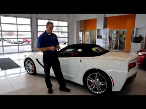 Ask the Chevy Dude: How to put the 2014 Stingray top down. Convertible top operation from YouTube · Duration:  1 minutes 59 seconds