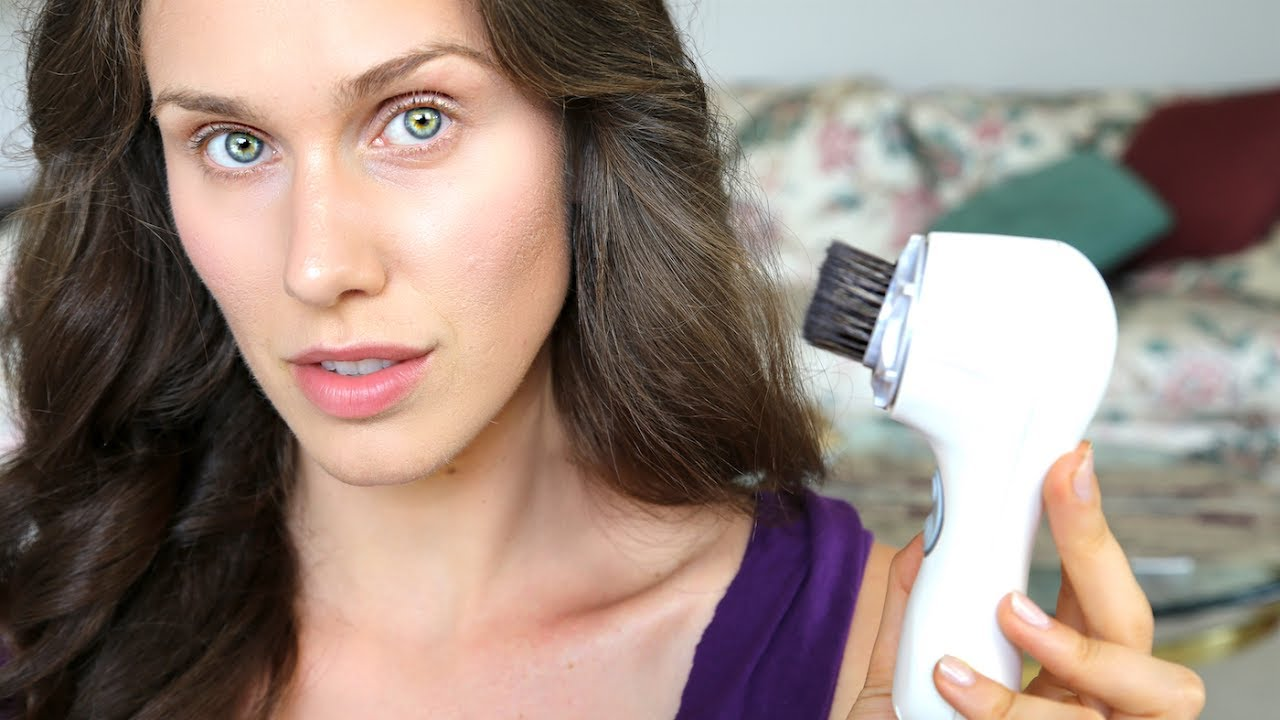 I Applied My Makeup Using A Clarisonic First Impressions Review