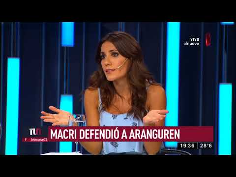 Macri defendió a Aranguren