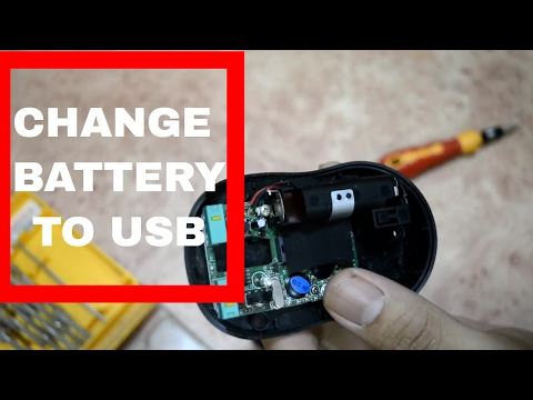 USB Power To Wireless Mouse | DIY Repair | #TopCumTech
