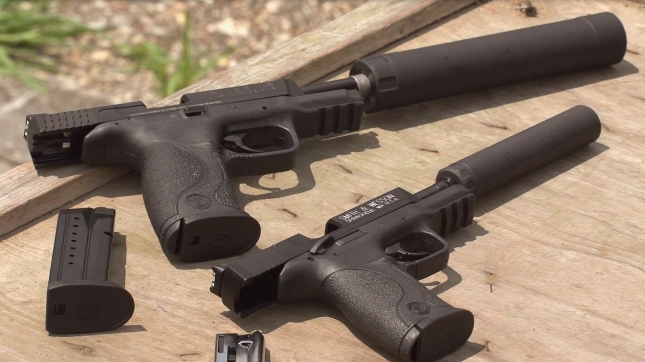 Suppressor-Ready Pistols from Smith & Wesson: Guns & Gear|S7