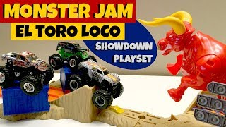 MONSTER JAM El Toro Loco Showdown Play Set