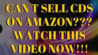 If You Can't Sell CDs On Amazon In 2019 Watch This Video!