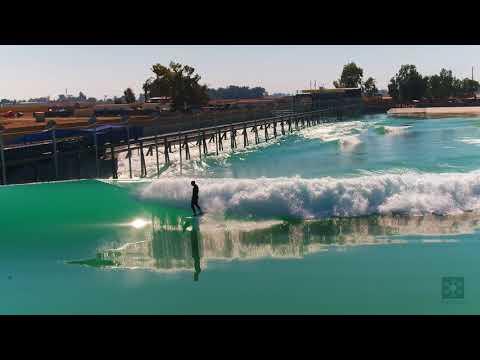 Kelly Slater rips at his Surf Ranch