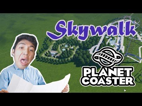FINALLY SKYWALK DAN HUTAN DI TAMAN BERMAIN! - Planet Coaster Ep. 4