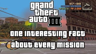 GTA 3 (PS2) One Fact About Every Mission Feat. #ODDHEADER #gta3 #gtamissions