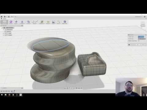 Intro to Forms & Sculpting in Fusion 360 [Part 1]