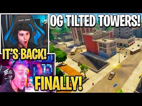 Everyone *SHOCKED* After *OG* TILTED TOWERS *BACK* In Fortnite... (Update)