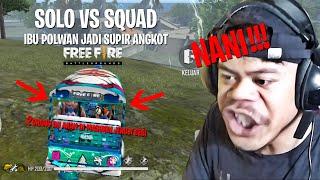 Download lagu JADI POLWAN SOLO VS SQUAD PAKAI DOUBLE SHOTGUN!!!