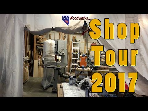 NV Woodwerks Shop Tour 2017   Resin Casting and Turning Workshop With Special Guest Pea Pods