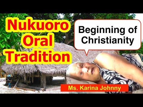 Account of the Beginning of the Christianity, Nukuoro