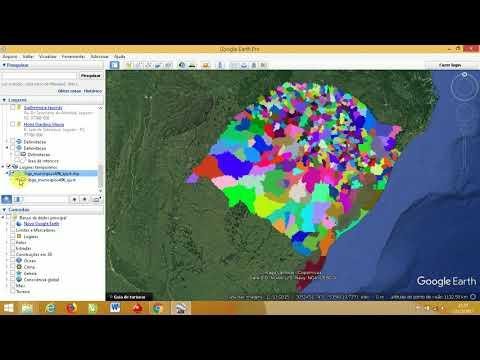 Abrir Shapefile no Google Earth e ajustar simbologia de cores