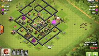 Pretty Well Loot with 50% and above - Clash of Clans &25 hf4hs