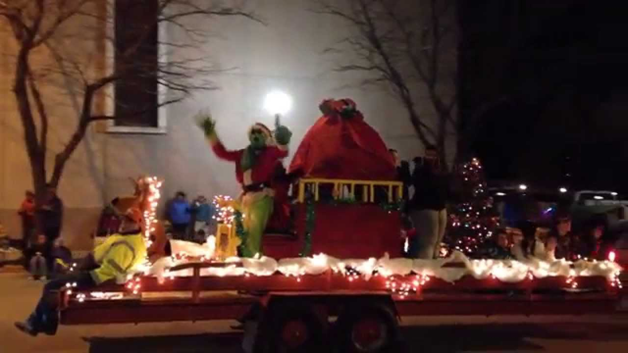 Uncle Buck And The Grinch Tangle In The Cheyenne Christmas Parade ...