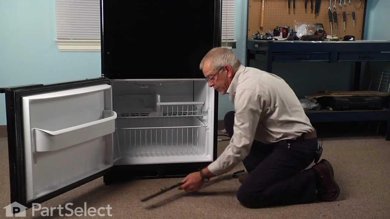 Refrigerator Repair Replacing The Toe Grille Clip