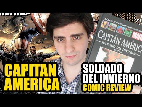 CAPITÁN AMÉRICA - SOLDADO DEL INVIERNO | COMIC REVIEW | Colección Definitiva Marvel #5 y #11