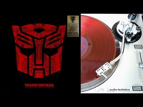 The Transformers : the movie - vinyl LP collector face A (Legacy recordings)