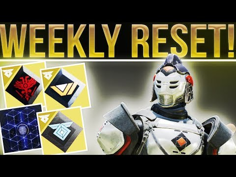 Destiny 2. WEEKLY RESET! Update 1.2.0.2, Polaris Quest Step, Weekly Milestones, Nightfall, & More!