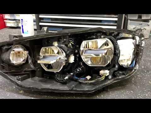 BMW 4 Series LED Headlight - Peak Inside!