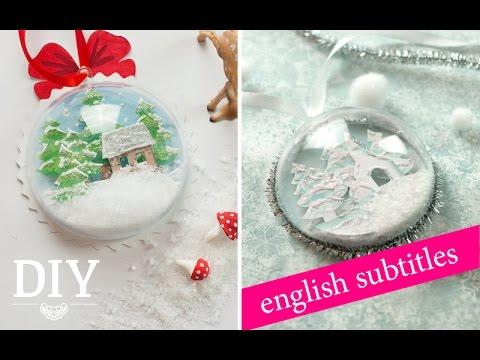 weihnachtsdeko basteln geschenkanh nger snow globe how to deko kitchen youtube. Black Bedroom Furniture Sets. Home Design Ideas