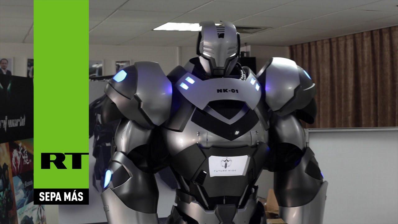 Iron Man Presentan Un Exoesqueleto Pilotado Desde Dentro