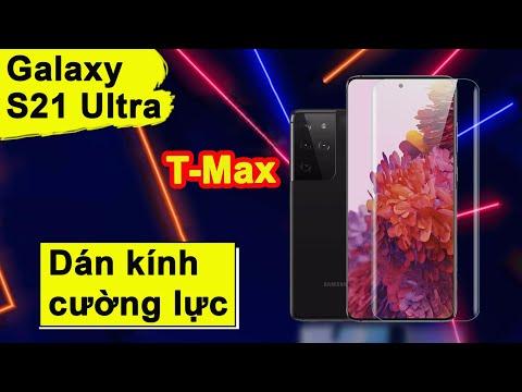 Kính cường lực - Hướng dẫn dán kính cường lực Samsung S21 Ultra hiệu T-Max chính hãng giá rẻ tại Hà Nội - Tphcm