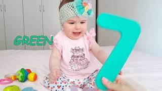 Learn colors and numbers with baby Diana Finger  Family Songs for kids
