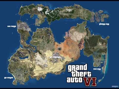 GTA 6 MAP IS *NOT* ALL OF USA!!! HERE IS WHY   YouTube