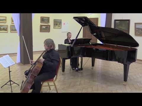 Концерт в Поленово. Александр Князев — виолончель, Басиния Шульман — фортепиано