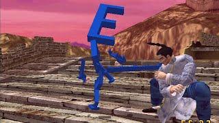 Virtua Fighter 3Tb Alphabet Character Game Sample (Dreamcast 60FPS)