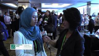 Forests Asia Summit 2014: Sabrina (Participant)