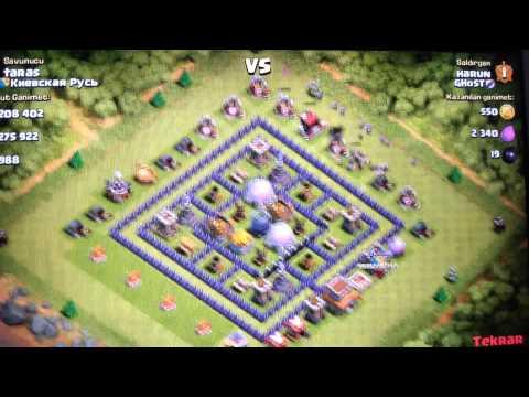 Saldırı Stratejileri #2 Barbar-Okçu