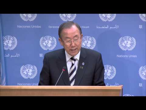 WorldLeadersTV: EGYPT, SYRIA, ISRAELI-PALESTINIAN PEACE EFFORTS: UN S-G BAN KI-MOON