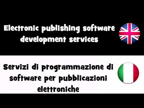 VOCABULARY IN 20 LANGUAGES = Electronic publishing software development services