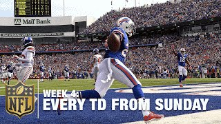 Watch Every Touchdown From Sunday (Week 4)   NFL RedZone