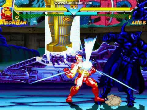 Ares (DC universe ) VS IRONMAN ( MARVEL COMICS)