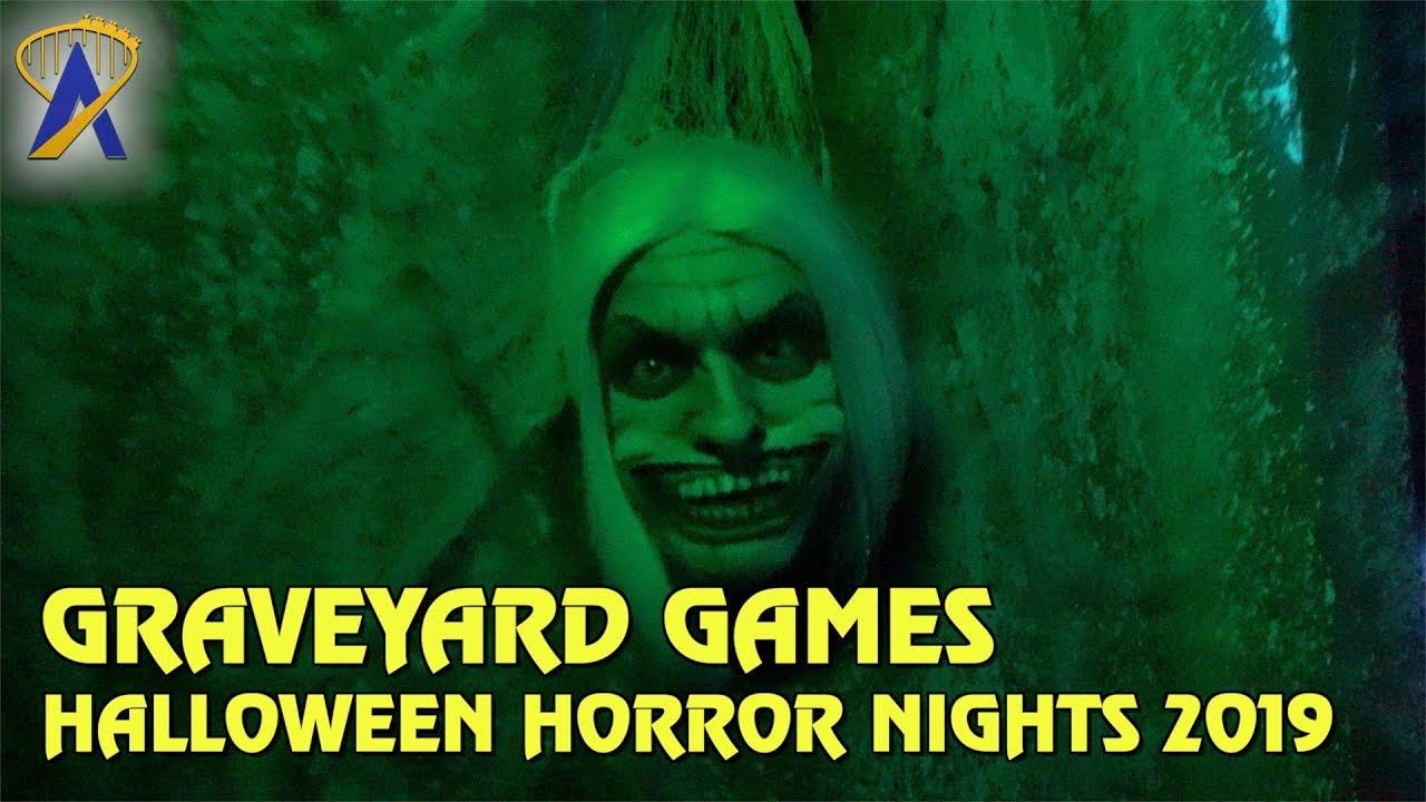Graveyard Games Highlights From Halloween Horror Nights Orlando 2019 Youtube