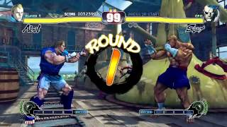 Street Fighter IV (PlayStation 3) Arcade Mode as Abel