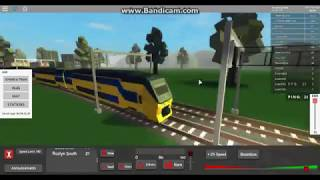 Best game of the world The train simulator on Roblox
