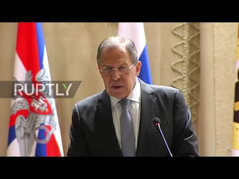 Russia: 'Russia and Europe need each other' - Lavrov