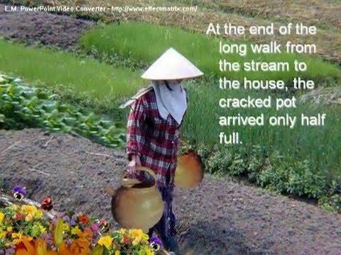 Cracked Pot, Chinese Wisdom...