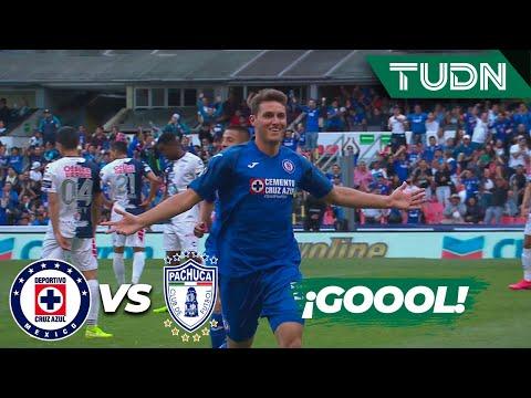¡Santigoool! Cruz Azul empata en el marcador | Cruz Azul 1 - 1 Pachuca | Liga Mx J-5 CL-2020 | TUDN