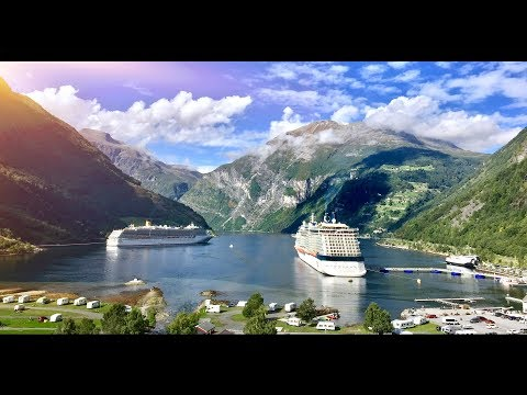 NORWAY Travel Guide Cinematic Drone Footage of the Fjords DJI Phantom 3 Standard Footage